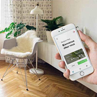 The SmartHab connected home solution © SmartHab